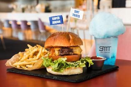 SUPER JUNIORのメンバーが好きな味を表現した「SJバーガー」がSMT TOKYOで期間限定復活