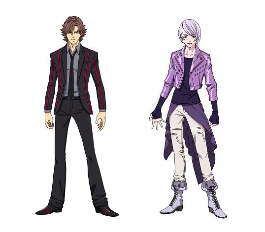 すでに発表されているダグ(CV:三上哲)とキリル(CV:天崎滉平)のバディ刑事(左から)