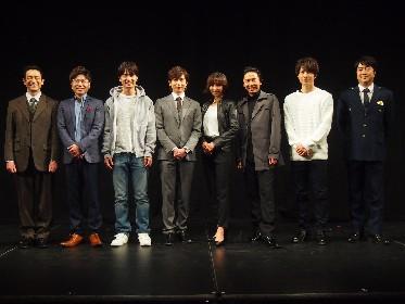 TVドラマ『アンフェア』の続編となる舞台公演が開幕 主演・篠田麻里子は「素敵な作品になる」と確信