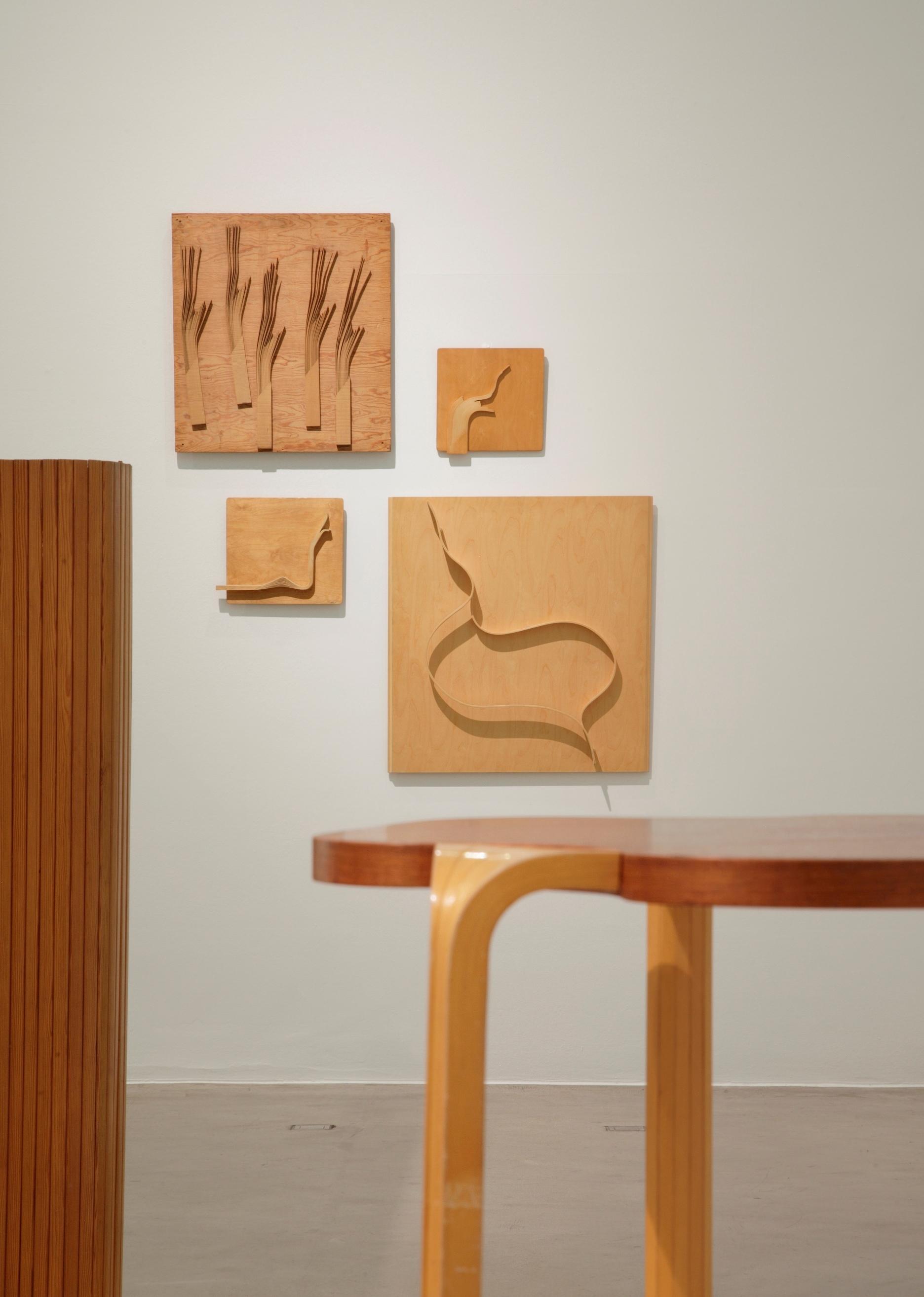 アアルトのマテリアル・スタディ(レリーフ) (C)Vitra Design Museum, photo: Ursula Sprecher