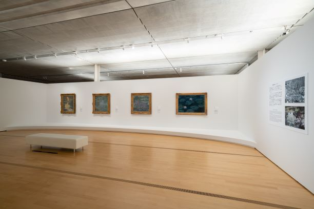 『モネとマティスーもうひとつの楽園』 展示風景  (C)Ken KATO