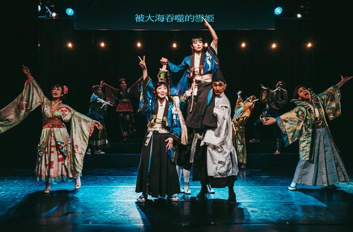 シアターRAKU(楽塾改め)の台湾初演より
