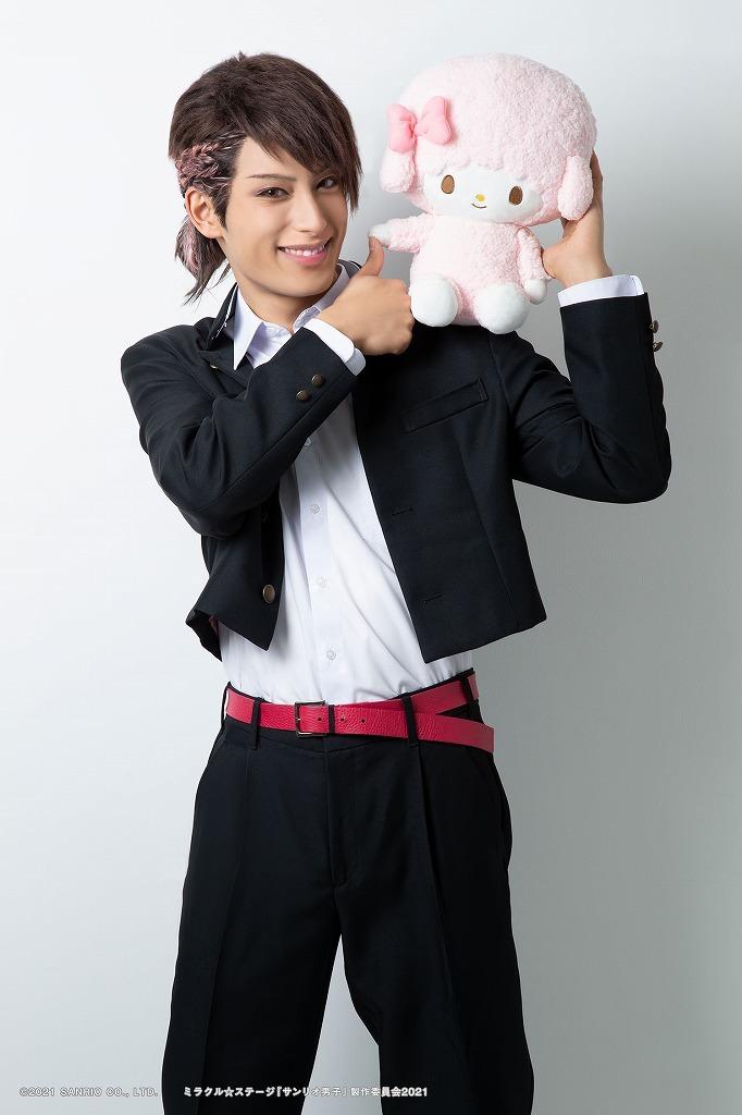 緒方尊比古役:武子直輝 (C)2021 SANRIO CO., LTD. ミラクル☆ステージ『サンリオ男子』製作委員会 2021 S/F・G