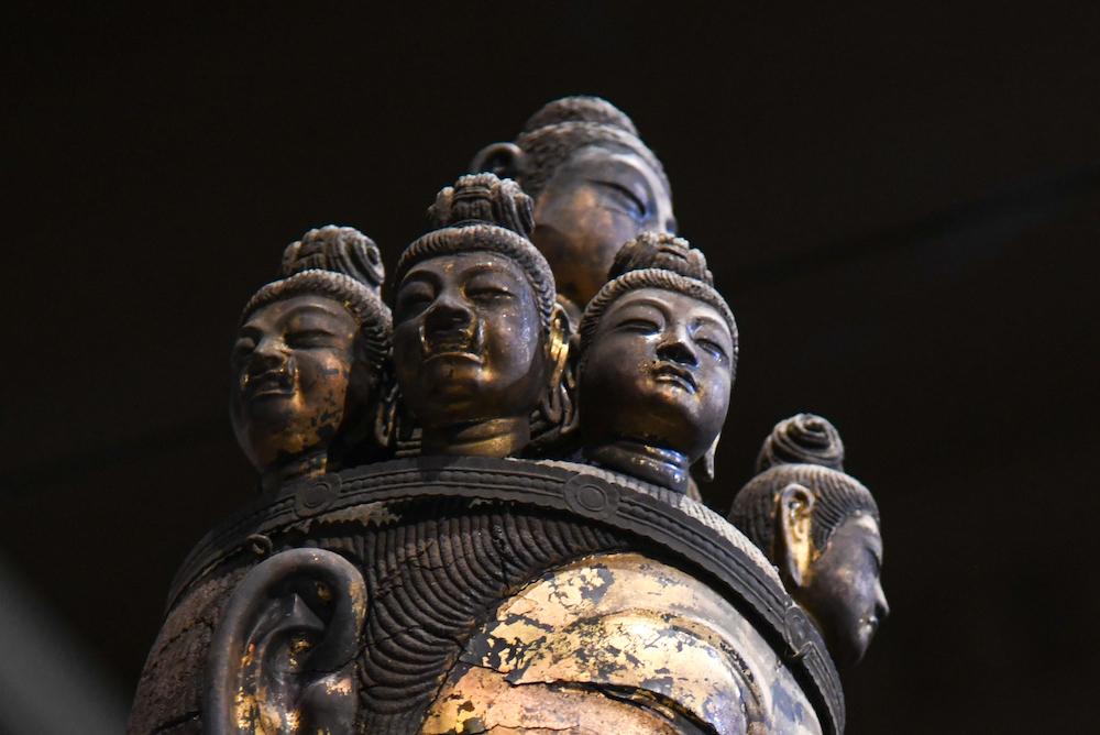 国宝《十一面観音菩薩立像》(部分)奈良時代・8世紀 奈良・聖林寺蔵