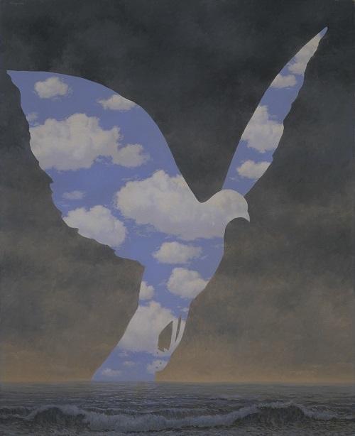 ルネ・マグリット 《大家族》 1963年 宇都宮美術館