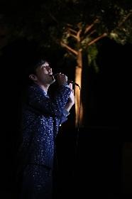 森山直太朗、主題歌を手がけたドラマ『記憶』の先行上映会でサプライズ歌唱