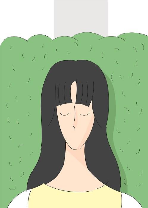 マレビトの会『グッドモーニング』 イラストレーション:カナイフユキ