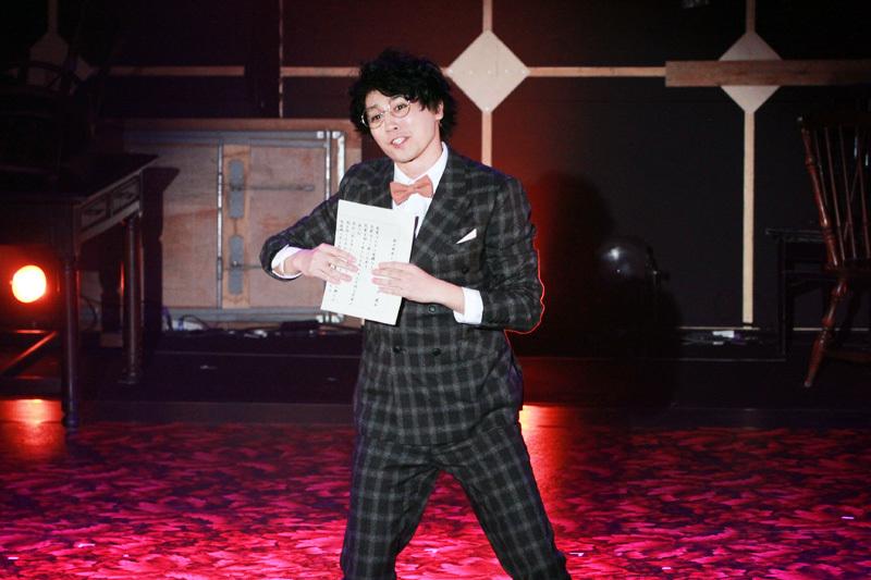 富士村秀磨役 内藤大希。歌います。