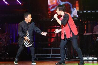 三浦大知、めちゃイケで岡村隆史にオファー「一緒にライブで踊りたい」