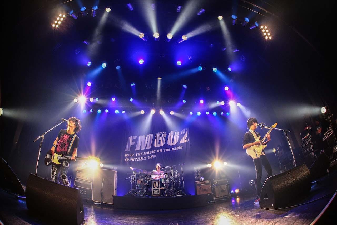 Unison Square Garden と Rock Kids 802 Ochiken Goes On