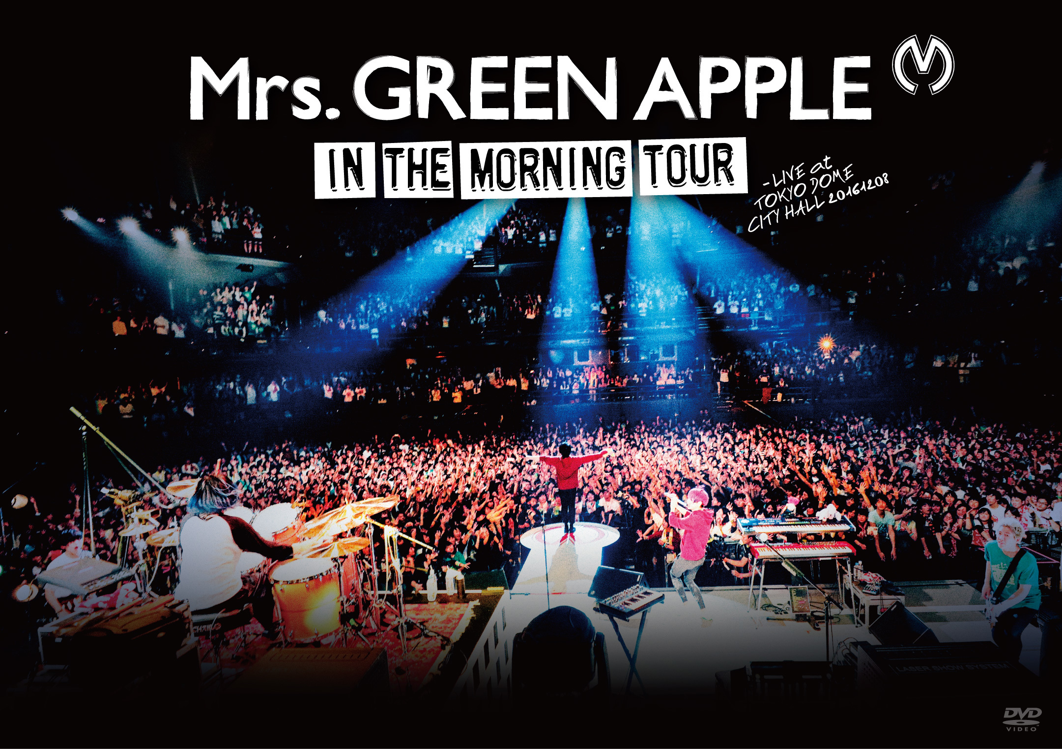 Mrs. GREEN APPLE『In the Morning Tour - LIVE at TOKYO DOME CITY HALL 20161208』DVD