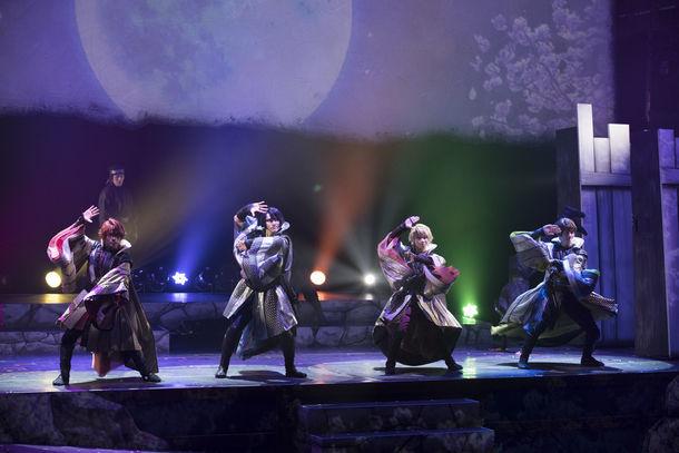 劇団シャイニング from うたの☆プリンスさまっ♪「天下無敵の忍び道」ゲネプロより。 (c)劇団シャイニング