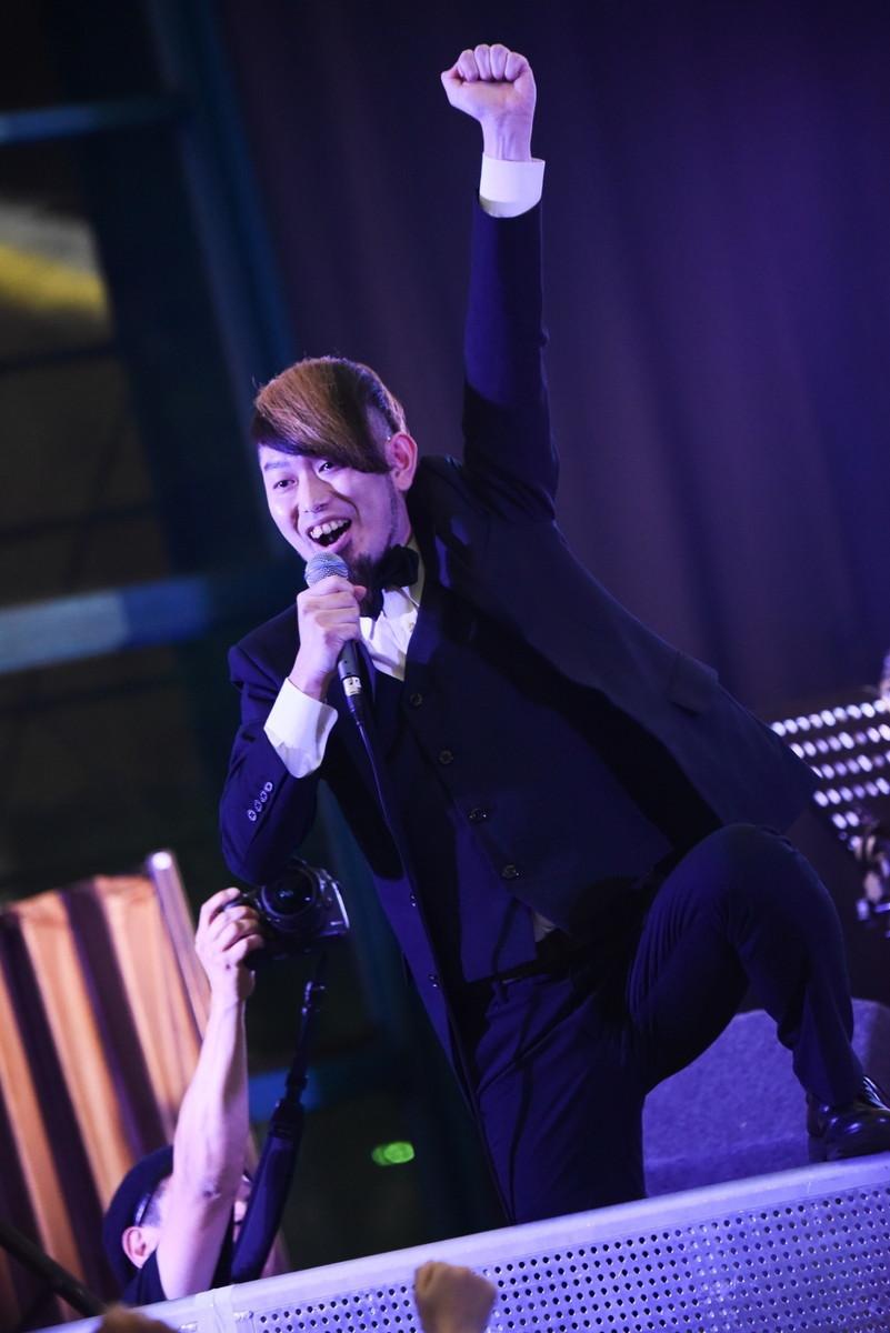 松川ケイスケと真一ジェット Photo by Masanori Fujikawa