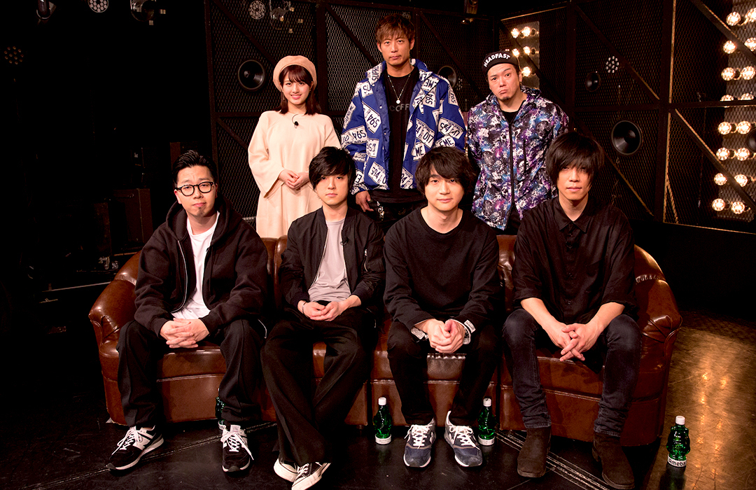 androp@Abema TV『BPM〜BEST PEOPLE's MUSIC〜』