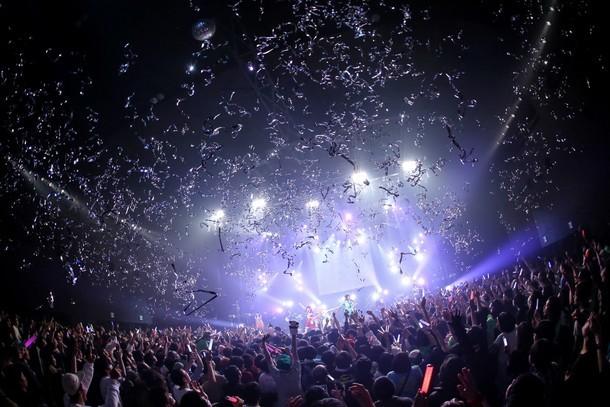 「ゆるめるモ! YOU ARE THE WORLD TOUR FINAL」の様子。(撮影:後藤壮太郎)