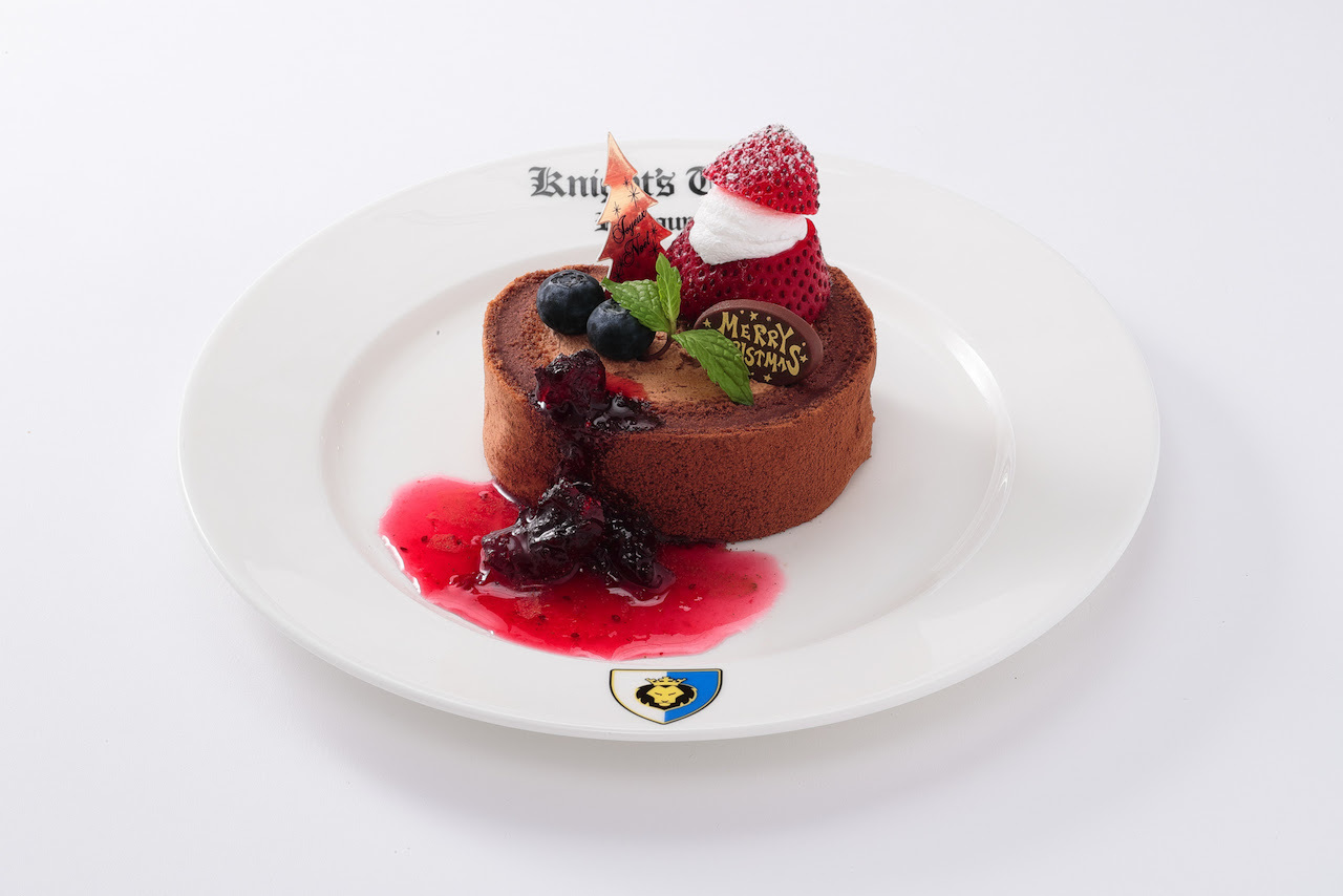 クリスマスチョコレートロールケーキ