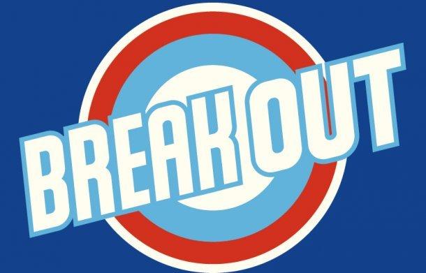 「BREAK OUT」ロゴ