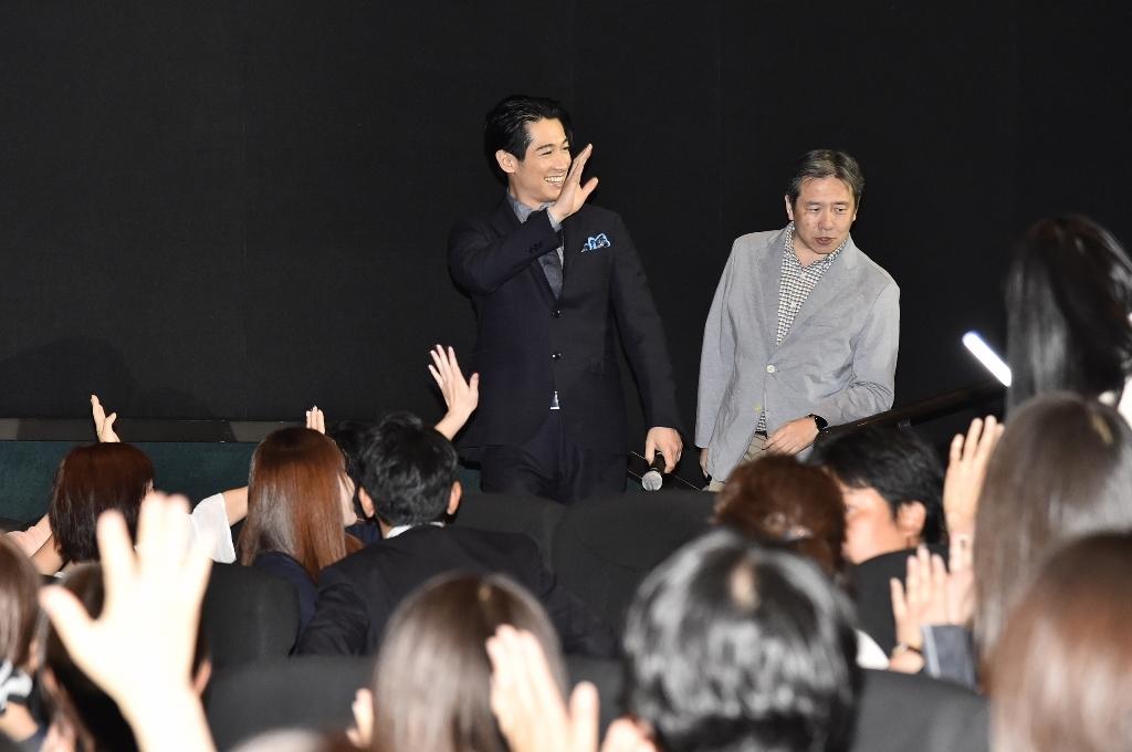 映画『結婚』大阪舞台挨拶