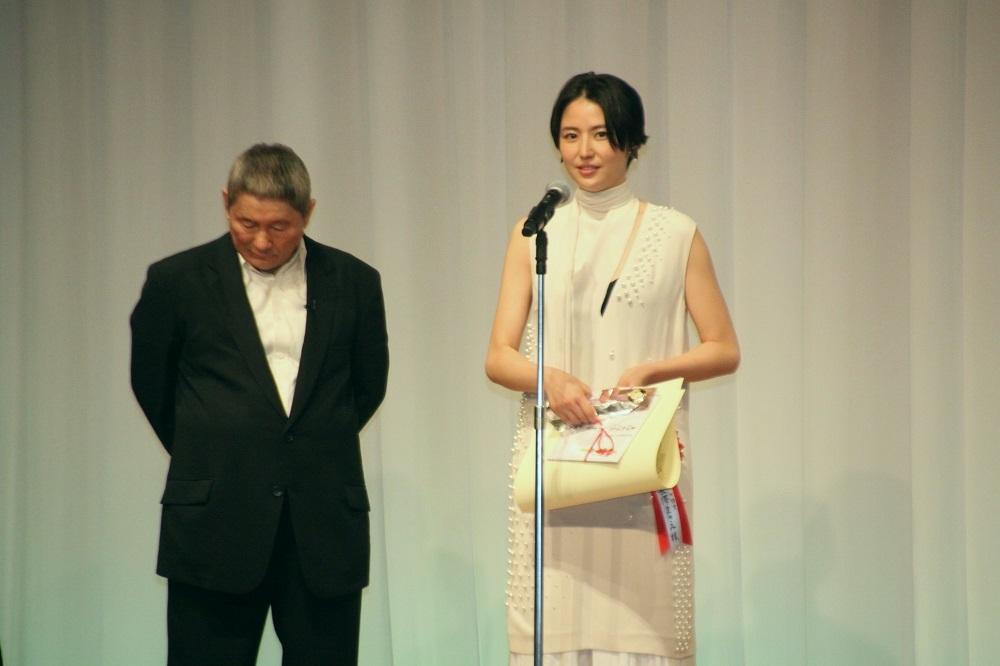 長澤まさみは主演女優賞を受賞