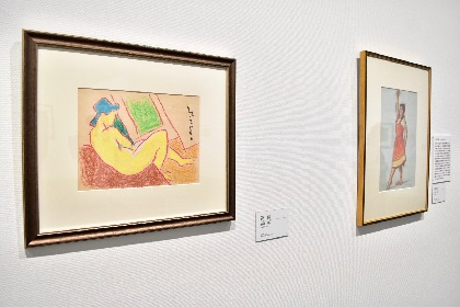 岡本太郎に熊谷守一、猪熊弦一郎の作品も!『巨匠たちのクレパス画展 日本近代から現代まで』レポート