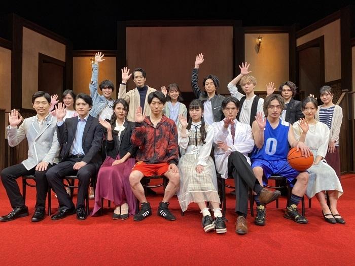 舞台『ハンズアップ』出演者たち