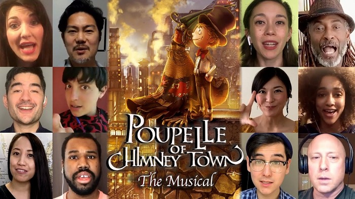 5月には、NYカンパニーの俳優たちがリモートで主題歌「Poupelle of Chimney Town」を披露する動画が公開された