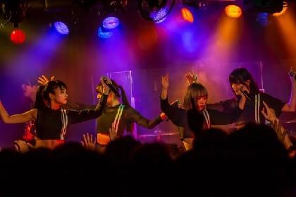 PassCodeが8月に東名阪対バンツアー開催、10月から全国ワンマンツアー