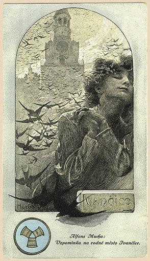 アルフォンス・ミュシャ《イヴァンチッツェの思い出》 画像提供=「ミュシャを楽しむために」(http://www.mucha.jp/)