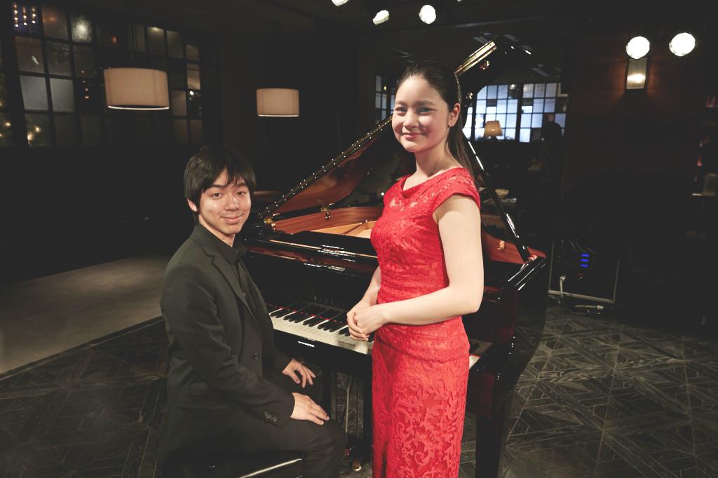 加藤大樹(ピアノ)、鈴木舞(ヴァイオリン)