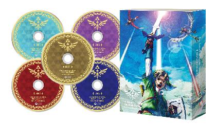 『ゼルダの伝説 スカイウォードソード』 サウンドトラックCD発売決定 収録曲数187曲の大ボリューム