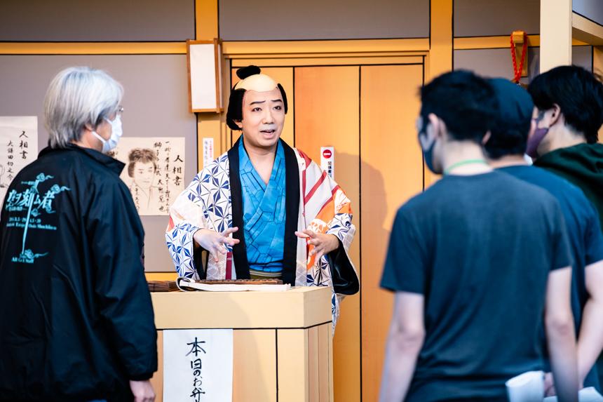 猿之助は『狭き門より入れ』で出会った前川、佐々木、そして浅野和之と2014年スーパー歌舞伎Ⅱ『空ヲ刻ム者』で再タッグを組んだ。
