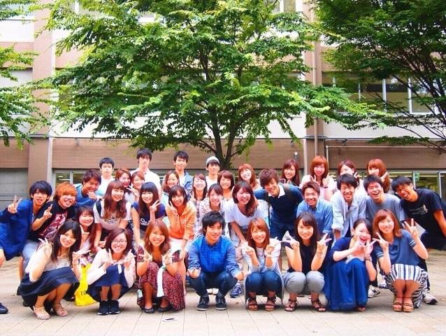 成城大学 大学祭実行委員会集合写真