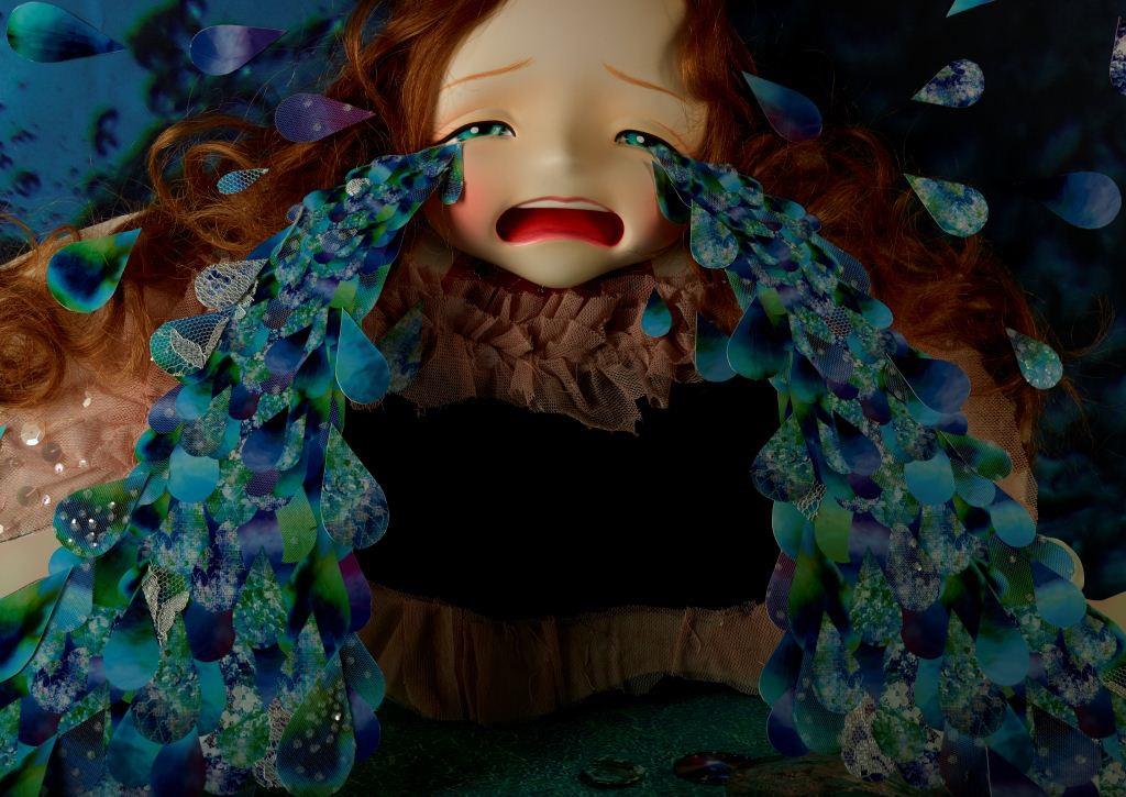 清川あさみ 「涙の池」 (C)AsamiKiyokawa/Little More 2013