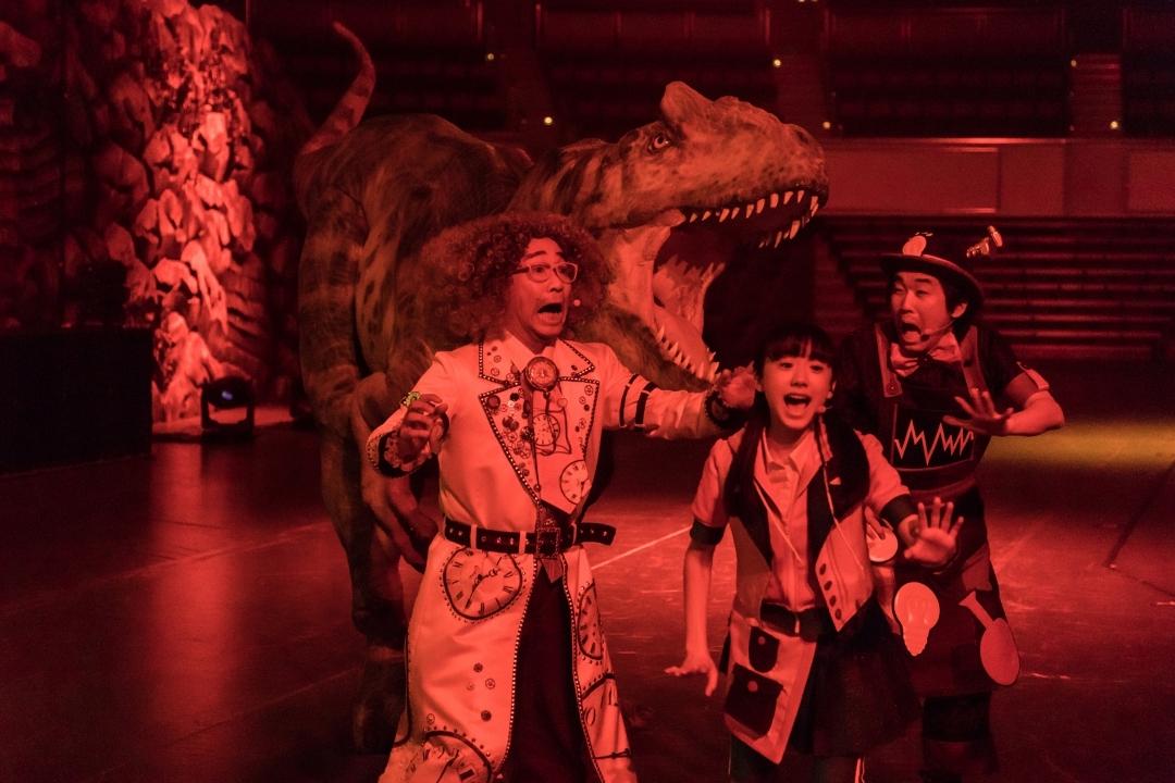 『世界一受けたい授業 THE LIVE 恐竜に会える夏!』ゲネプロより