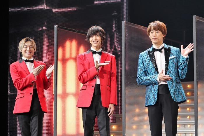 (左から)椿泰我、松井奏、越岡裕貴