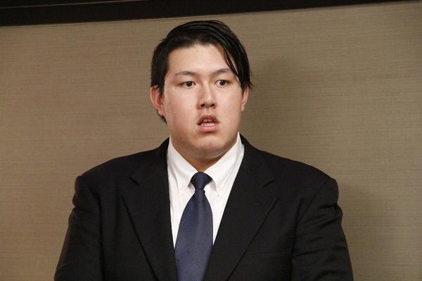 """初のタッグ戦に挑む""""大鵬三世""""納谷"""