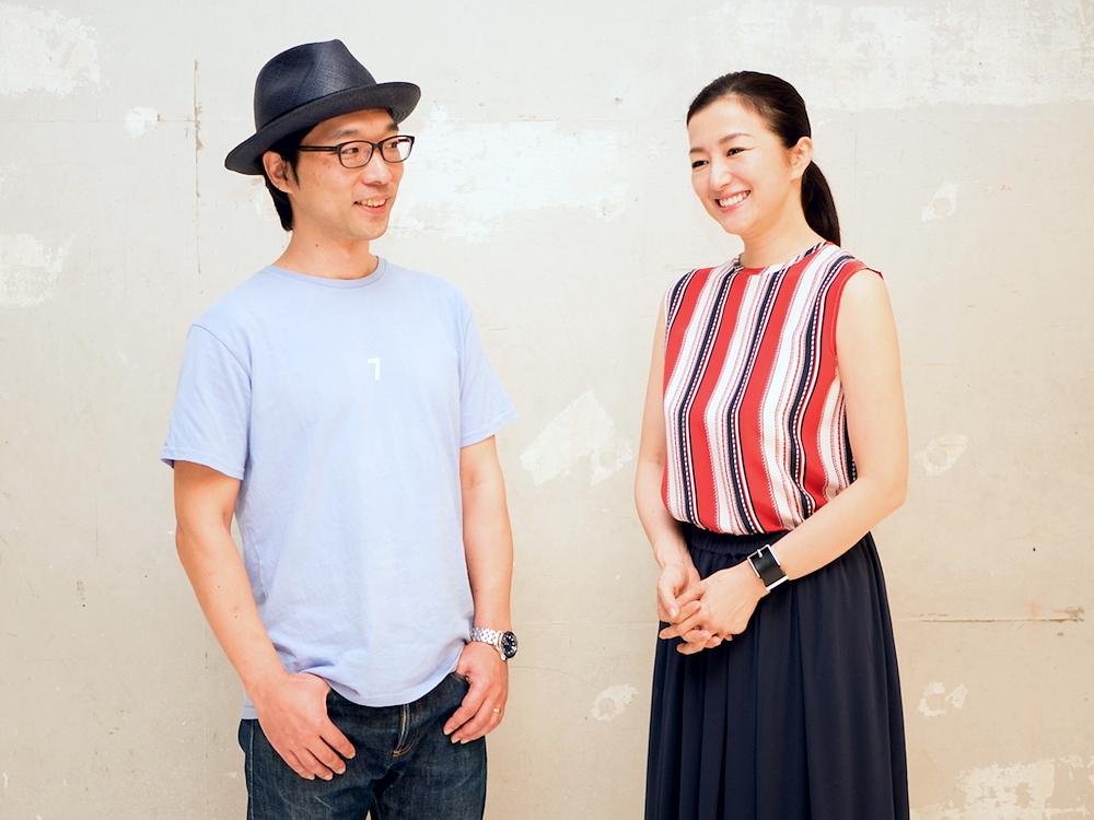 (左より)倉持裕・鈴木京香