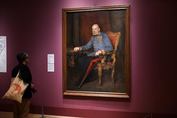 ヴィクトール・シュタウファー《オーストリア・ハンガリー二重帝国皇帝フランツ・ヨーゼフ1世の肖像》 1916年頃 ウィーン美術史美術館