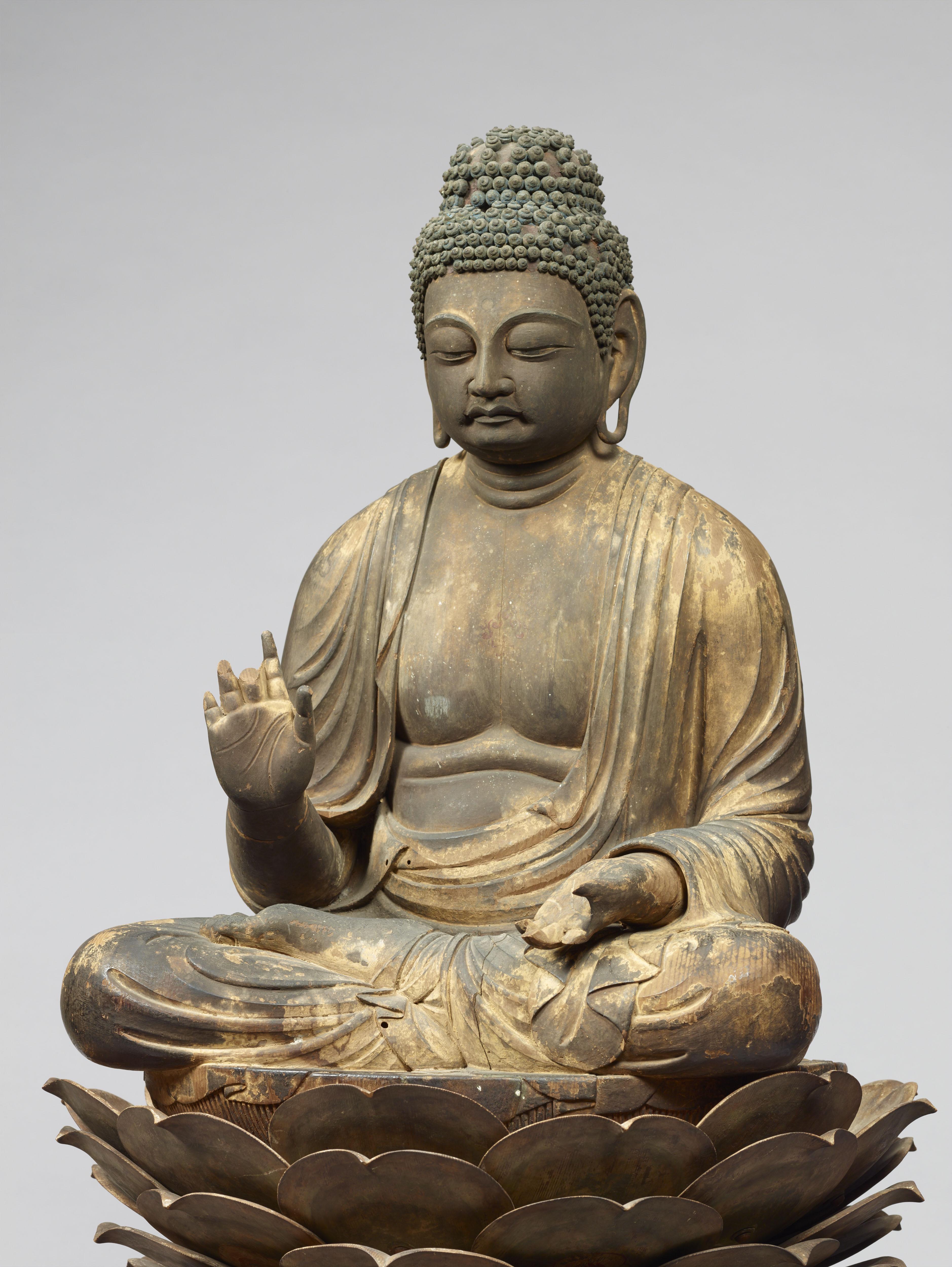 国宝 薬師如来坐像 平安時代(9世紀) 通期