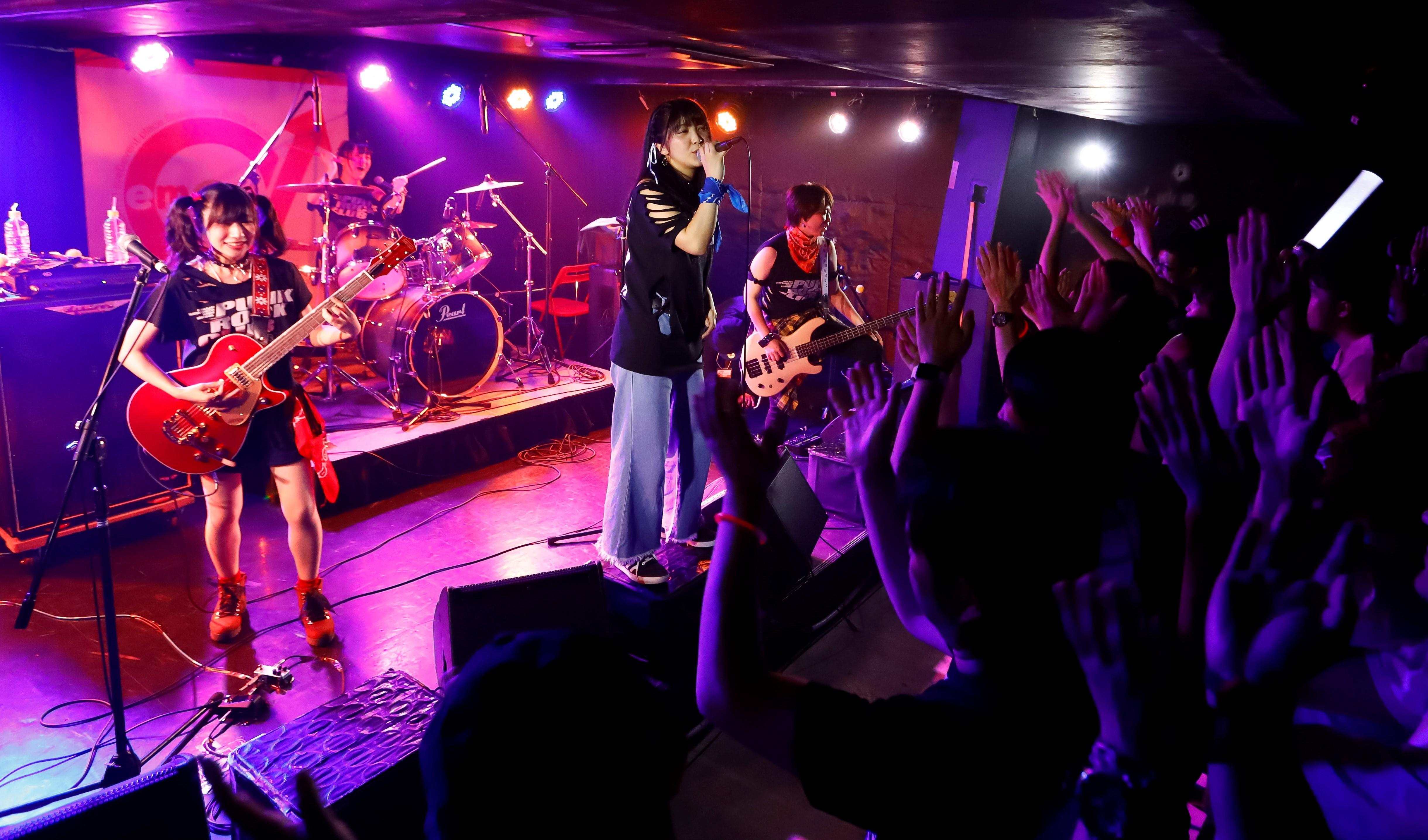 9月21日に行われた3rdワンマンライブの模様 [撮影:菅沼聖太郎(目黒スタジオ)](C)2019 ガールズフィスト!!!! プロジェクト
