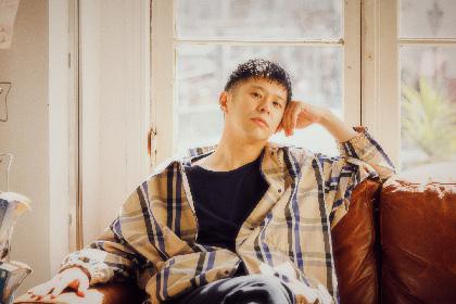 Keishi Tanaka、音楽仲間とリモートの作業のみで作り上げた新曲「Fallin' Down」をリリース