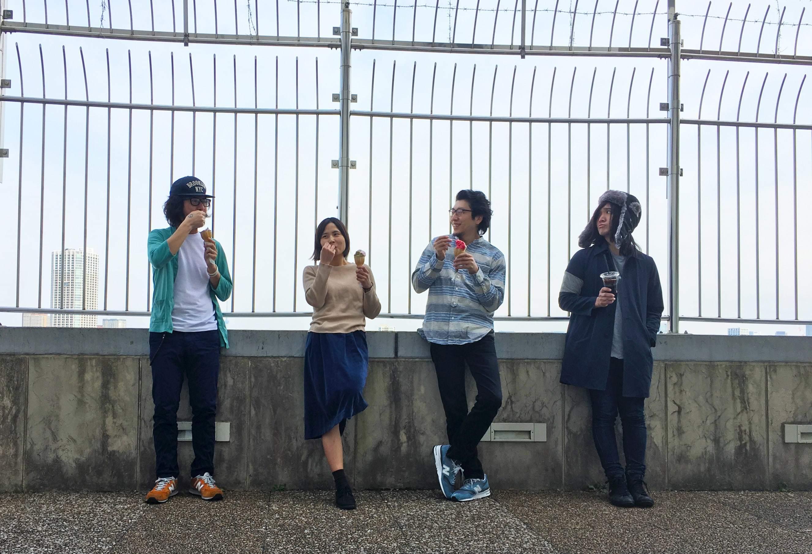 アライヨウコのバンド編成『アライヨウコと潮騒』