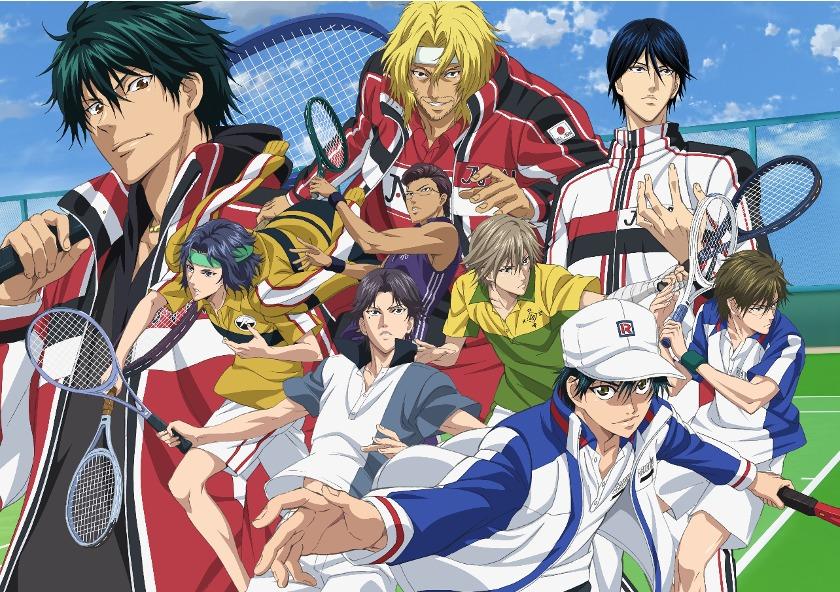 『新テニスの王子様 RisingBeat』 (C)許斐 剛/集英社・NAS・新テニスの王子様プロジェクト (C)bushi