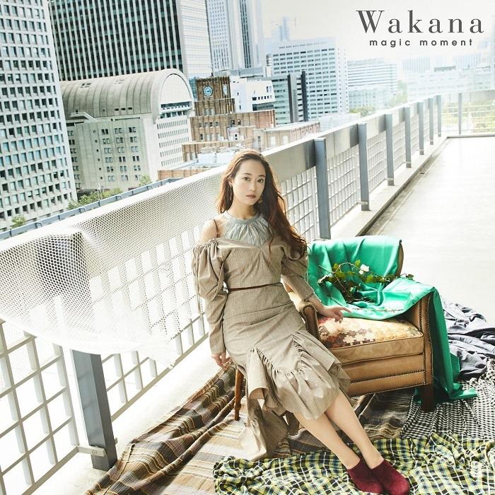 <初回限定盤B>Wakana「magic moment」ジャケット写真