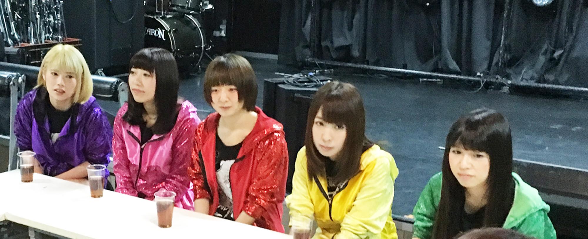 つばさFly(左から、藤井勇綺、神谷彩乃、鹿木香里、相奈まい、宮沢野乃香)