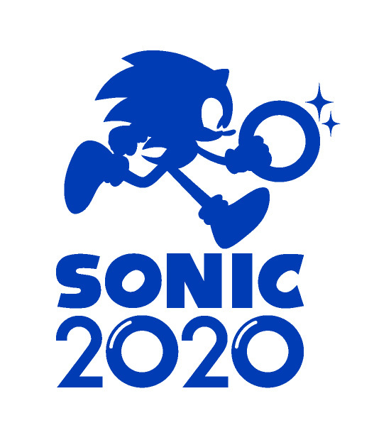 「SONIC2020」ロゴ (C)SEGA