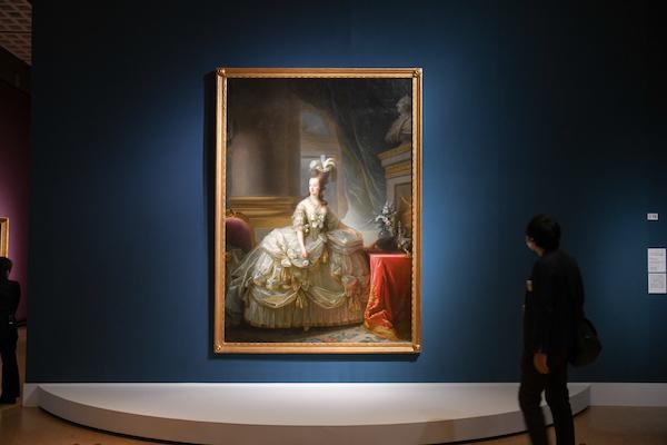 マリー・ルイーズ・エリザベト・ヴィジェ=ルブラン《フランス王妃マリー・アントワネットの肖像》 1778年 ウィーン美術史美術館