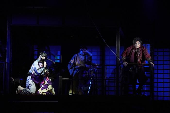 『天保十二年のシェイクスピア』の舞台写真 (オフィシャル提供)
