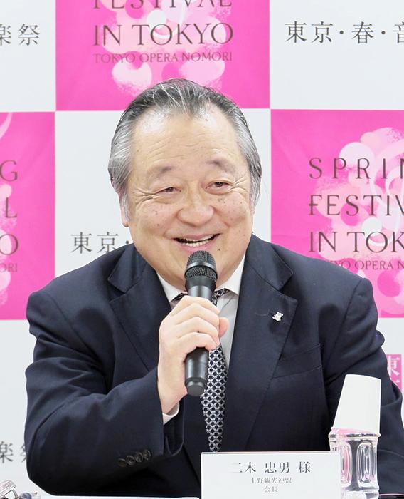 二木忠男(上野観光連盟会長) (c) Naoko Nagasawa