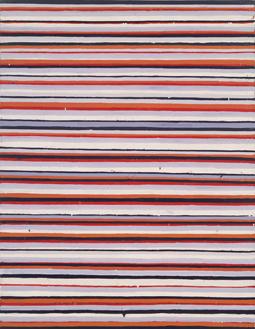 《Work C.92》1961-62年 油彩・キャンバス 117×91㎝ 横浜美術館蔵
